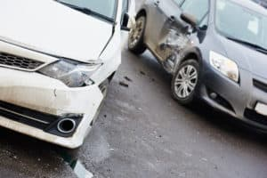 1 Injured in 3-Car Crash at Lyons and Peachland Avenues [Santa Clarita, CA]