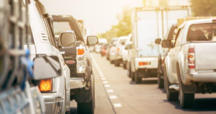 Lanes Blocked after Vehicle Crash on Highway 99 and Laguna Boulevard [Elk Grove, CA]