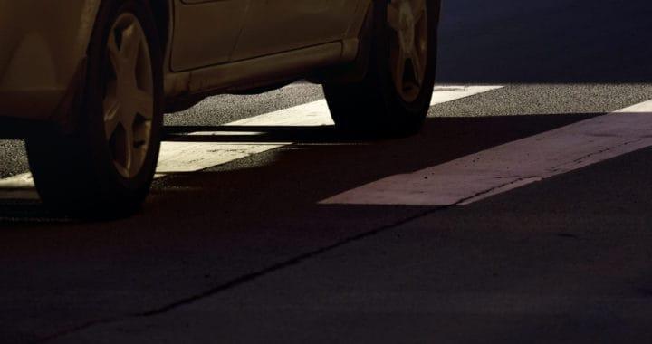 2 Injured in Sunset Boulevard Car Crash [Los Angeles, CA]