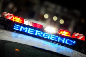 WESTMONT, CA - One Hospitalized in 2-Vehicle Crash at West 106th Street and Normandie Avenue