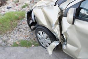 Damage Sustained in Multi-Car Crash on Highway 101 [San Rafael, CA]