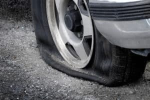 Tire Blowout Causes Crash on Highway 118 [Mission Hills, CA]