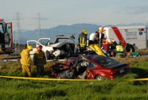 Multi-Vehicle Accident on Copper Hill Drive and Seco Canyon Road [Santa Clarita, CA]