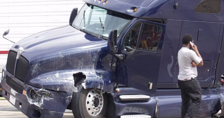 Truck Driver Gustavo Injured in Crash on Virgil Avenue and Clinton Street [Los Angeles, CA]