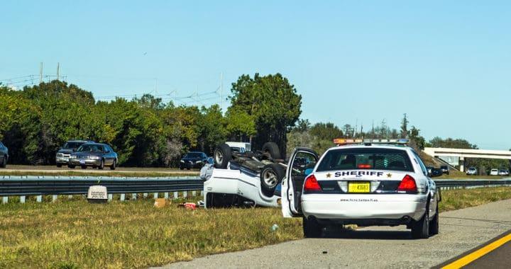 Vehicle Struck State Patrol Car on Interstate 5 [Bellingham, WA]