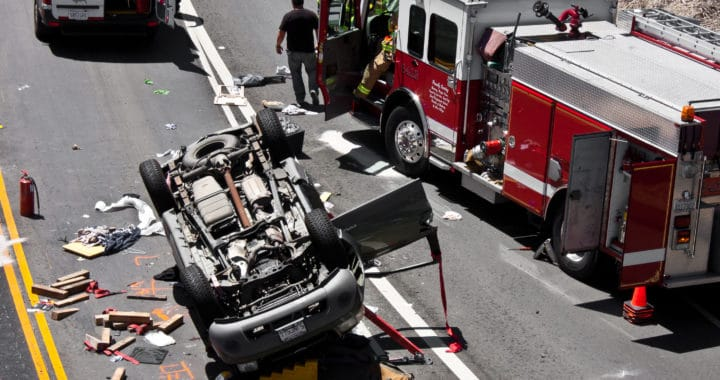 Greenfield Man Dies in Car Crash on Highway 101 [Salinas, CA]