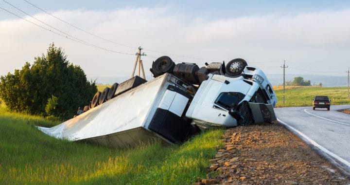 One Dies in Fiery Big Rig Crash on Highway 99 [Tulare County, CA]