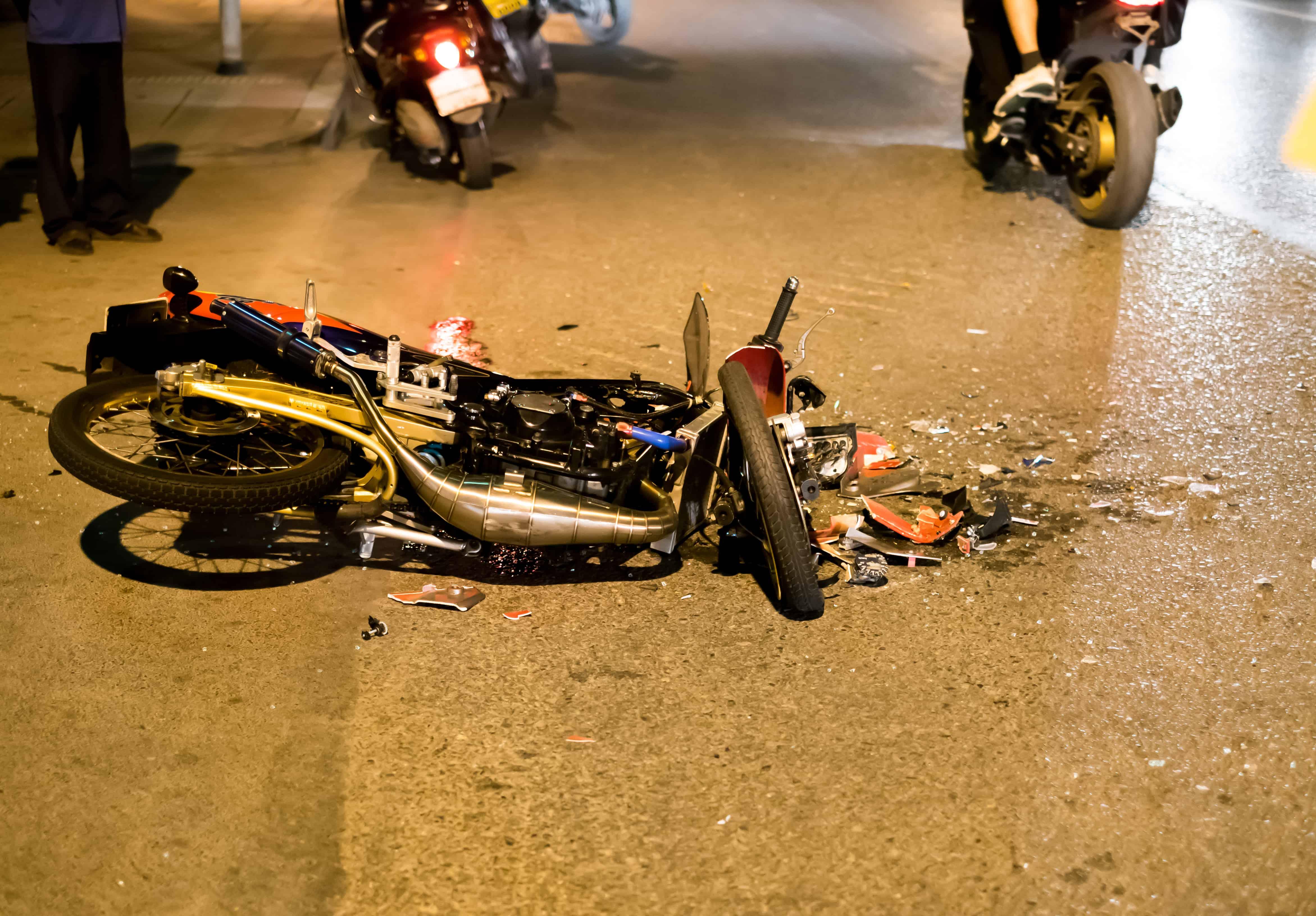 Motorcyclist Injured in Crash on Amargosa Road near La Mesa Road [Victorville, CA]