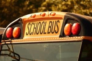 Child Injured, James Landgenbach Arrested in School Bus-Pickup Truck Crash on Highway 503 [Battle Ground, WA]