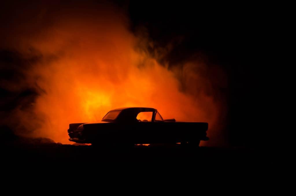 Audi Driver Dies in Highway 50 Fiery Crash [Camino, CA]