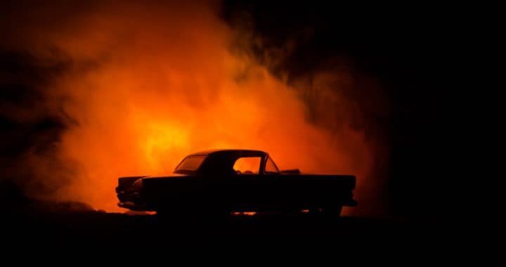 1 Killed, 3 Injured in Fiery Crash on Interstate 8 [Alpine, CA]