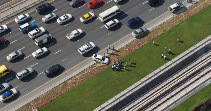 Lanes Blocked after Crash on Highway 101 near Tassajara Creek Road [Santa Margarita, CA]