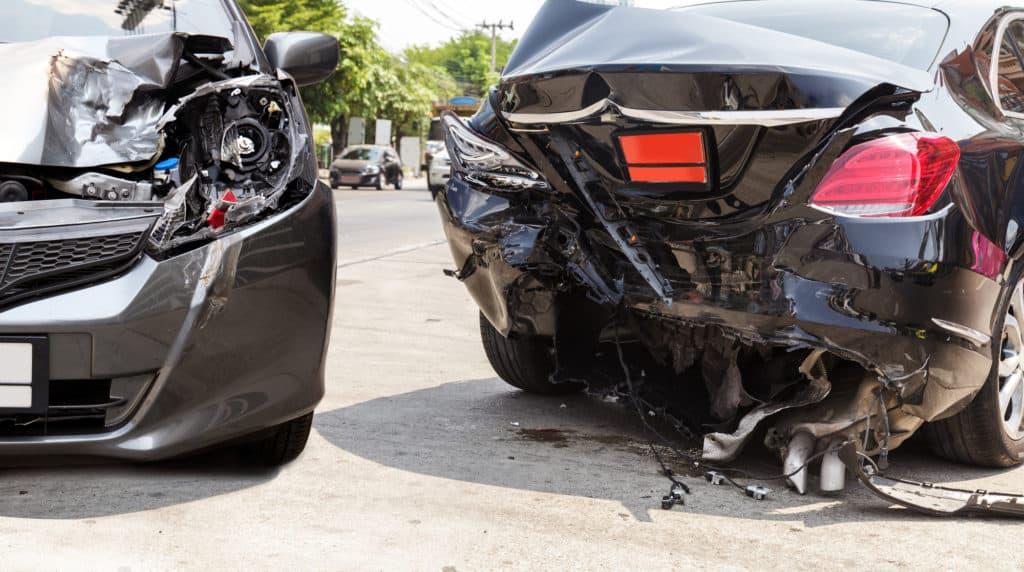 Injury Reported in 2-Vehicle Crash on Houghton Road [Tucson, AZ]