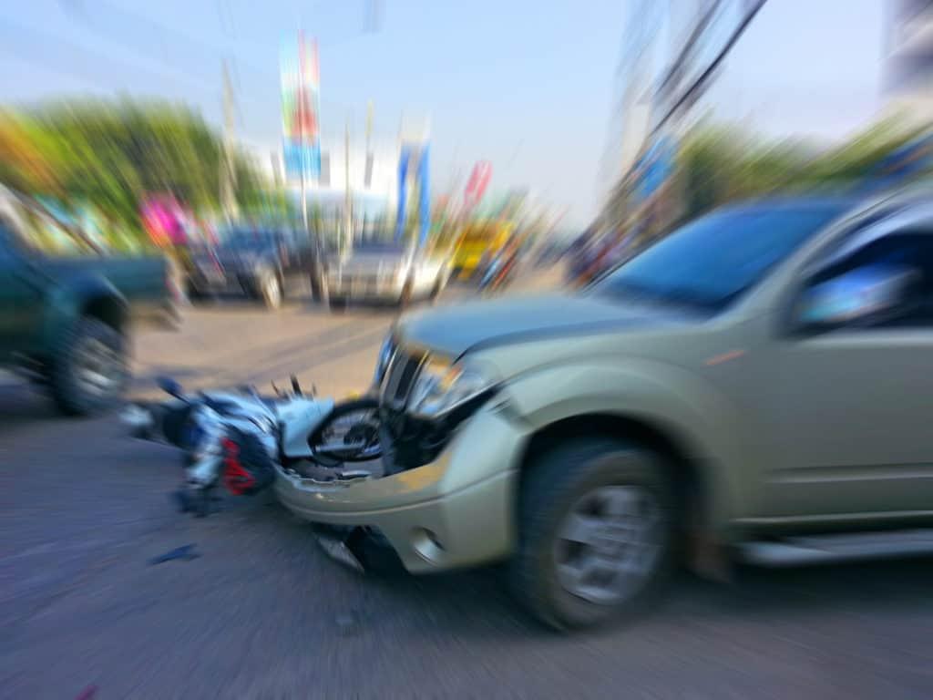 Police Investigates Vehicle Versus Motorcycle Crash on Los Reales Road and Brackenbury Drive [Tucson, AZ]