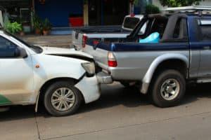 Rear-End Crash in Front of Legislature Building [Carson City, NV]