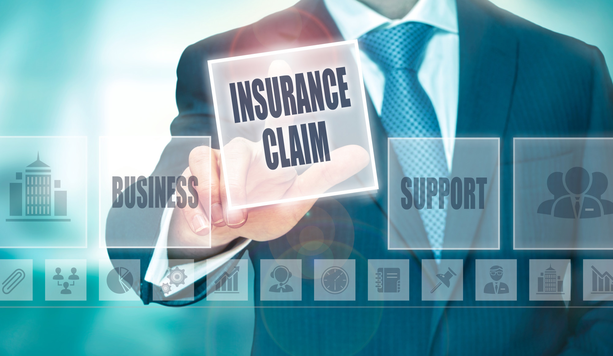 submit an insurance claim
